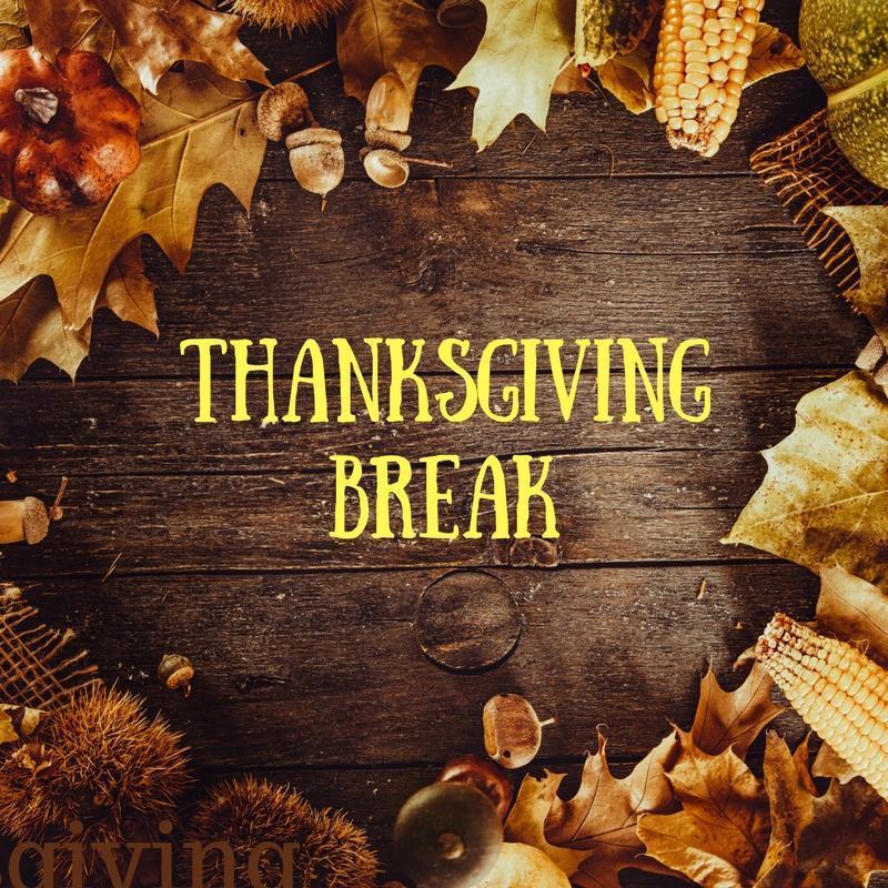 Thanksgiving Break (November 23-27, 2020) Featured Photo