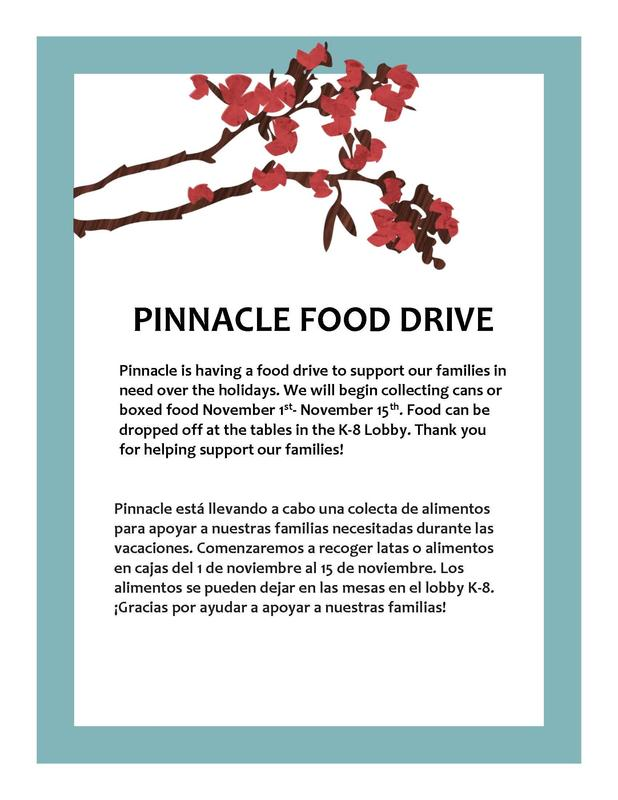 Pinnacle Food Drive