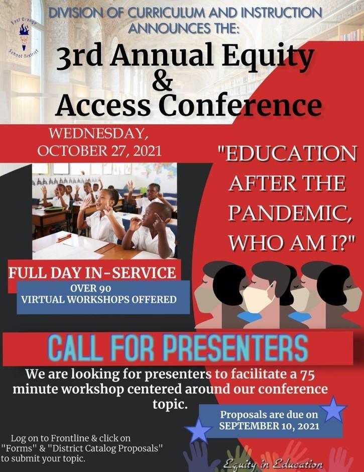 3rd Annual Equity and Access Conference