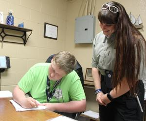 CHS Student Interns with Cleburne Police Department