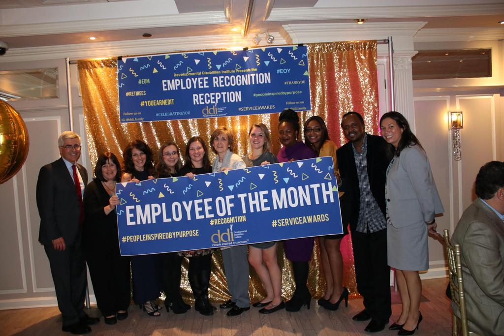 All of DDI's Employees of the Month