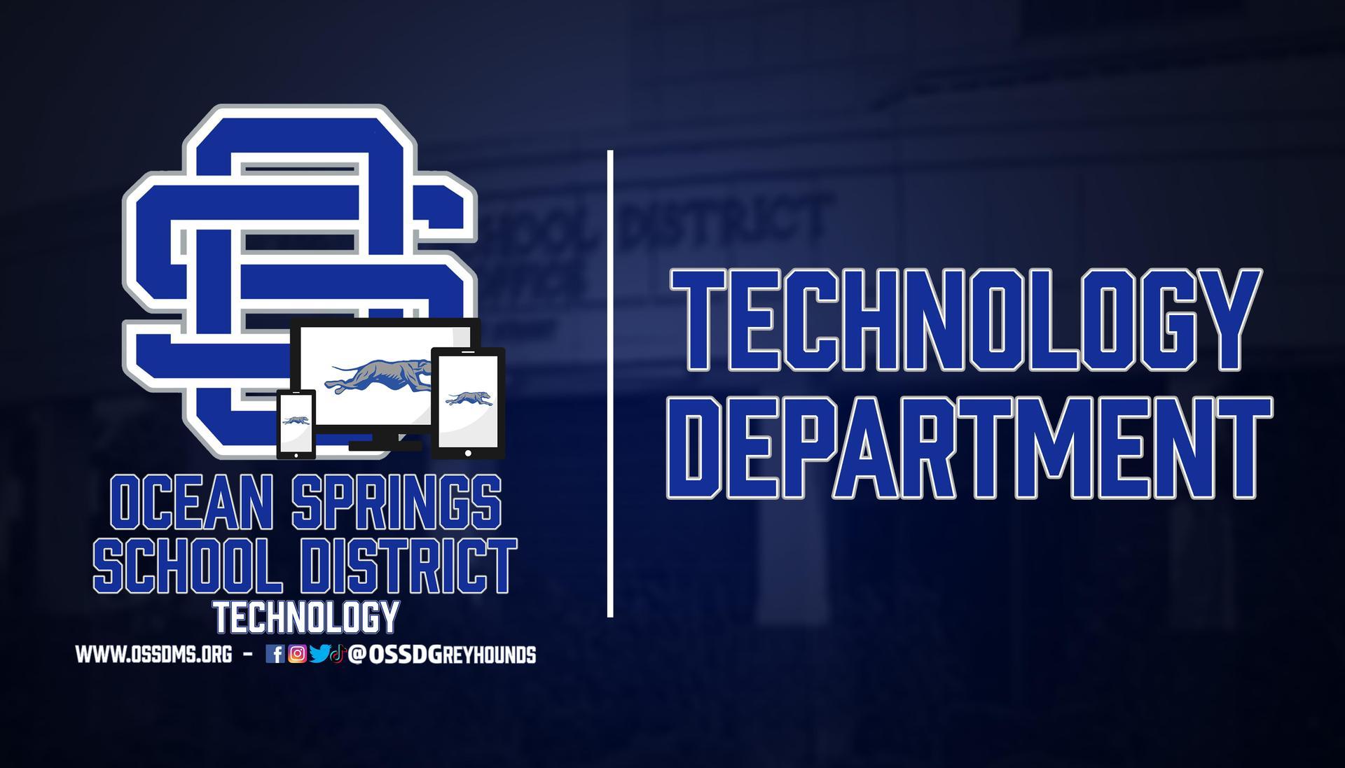 Technology Department Header