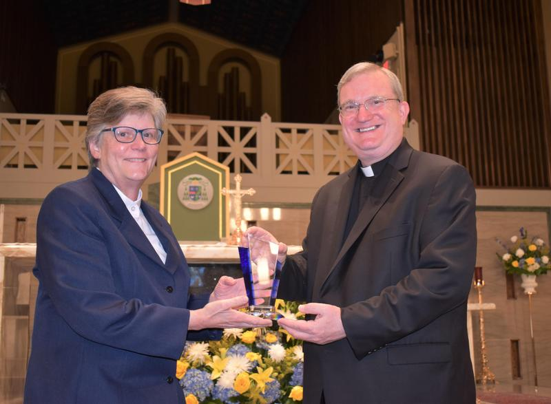 Congratulations to our 2021 Sister Maria Angelica Alumni Service Award recipient, Sister Mary Sue Carwile, IHM Featured Photo