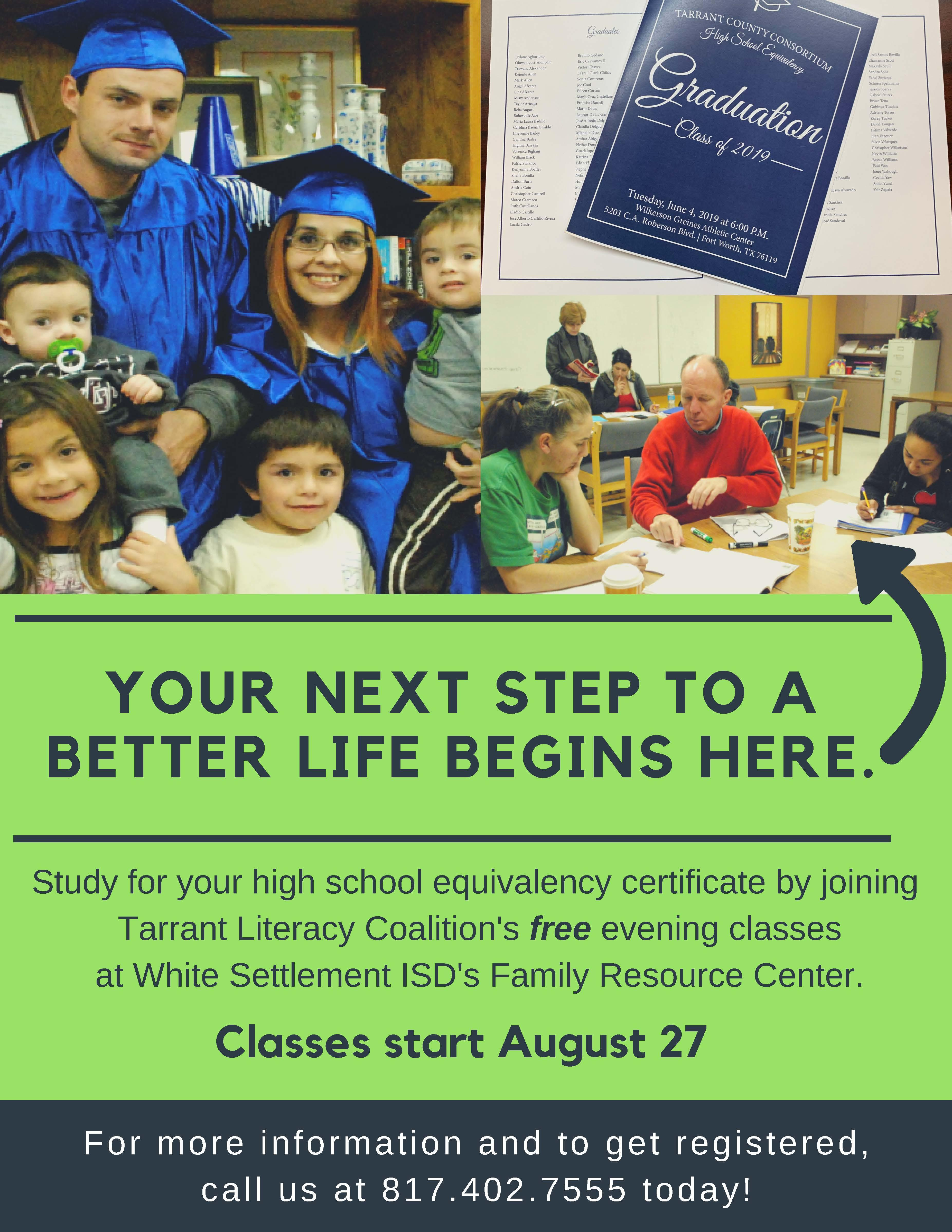 Free High School Equivalency Prep Classes