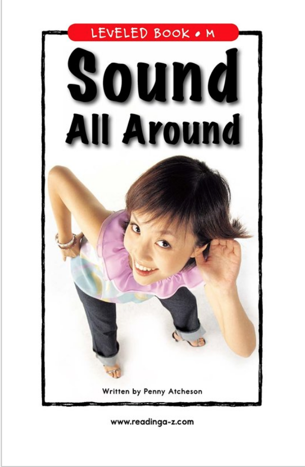 Sound all around book cover