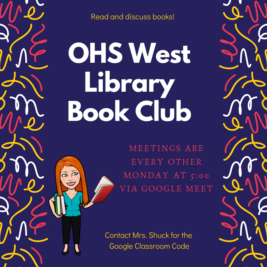 OHS West Book Club Image