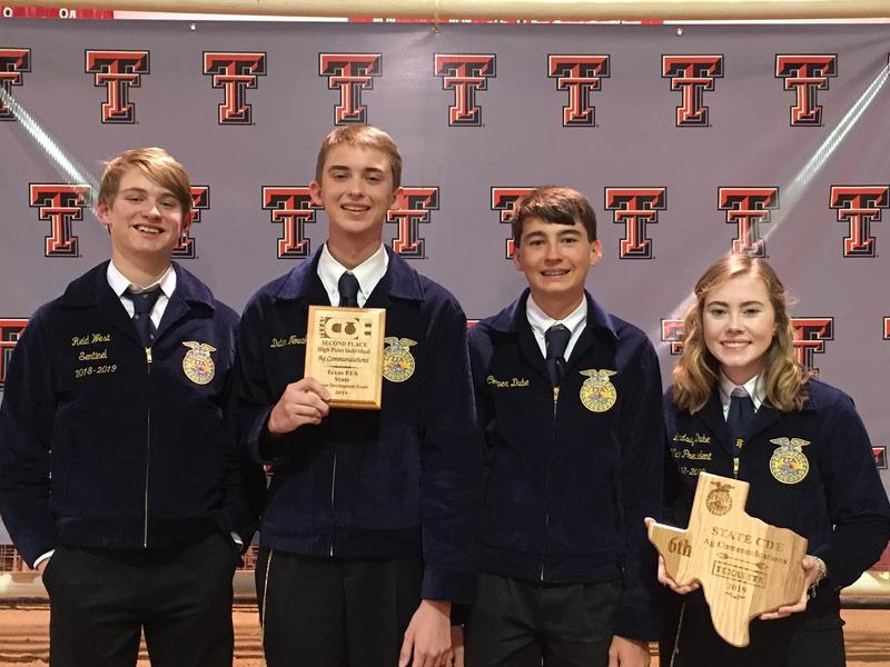 Thrall FFA Succeeds at State Competition! Thumbnail Image