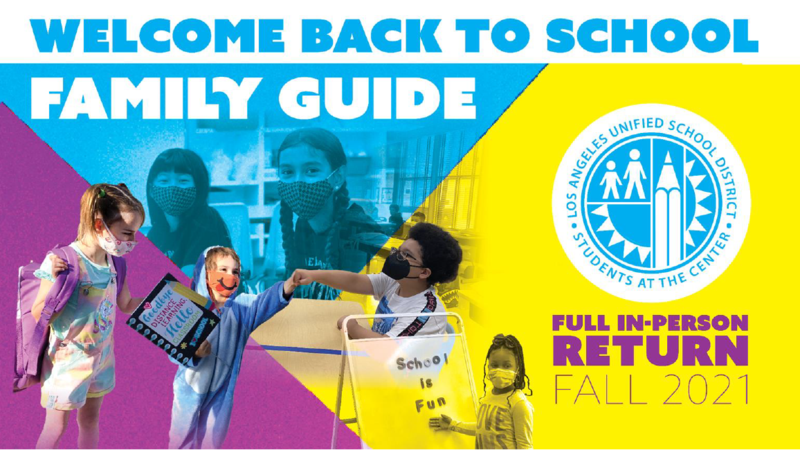 Welcom Back to School Family Guide Cover Photo