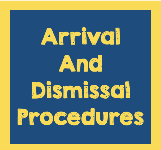 2021-2022 Arrival and Dismissal Procedures Featured Photo