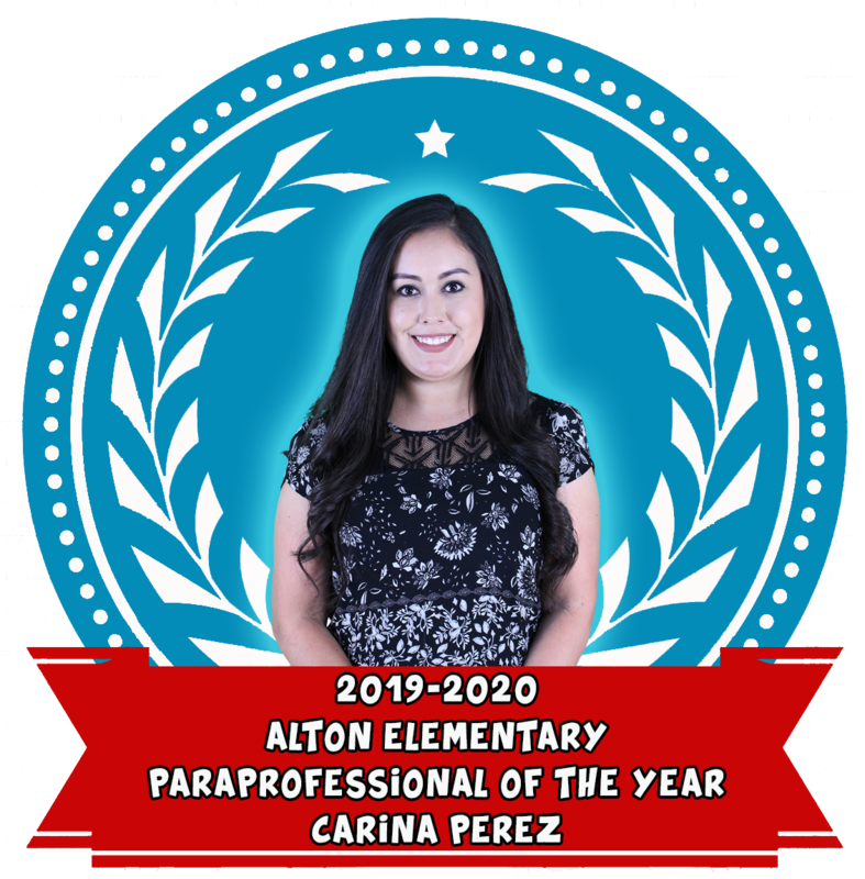 Congratulations to Mrs. Carina Perez for making Paraprofessional of the Year! Featured Photo