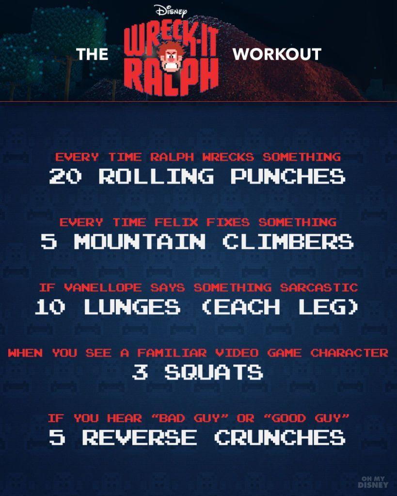 Wreck-It Ralph Workout