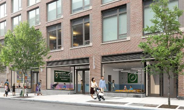 Artist's rendering of HudsonWay Immersion School's new NYC campus