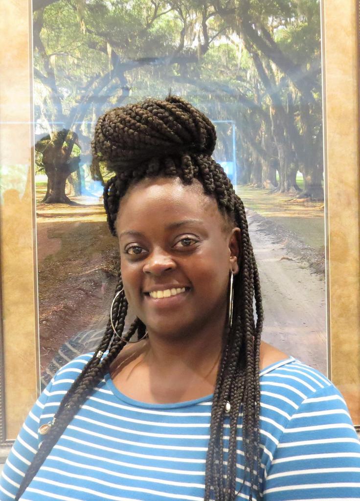 Rookie Teacher of the Year - Candace' Washington