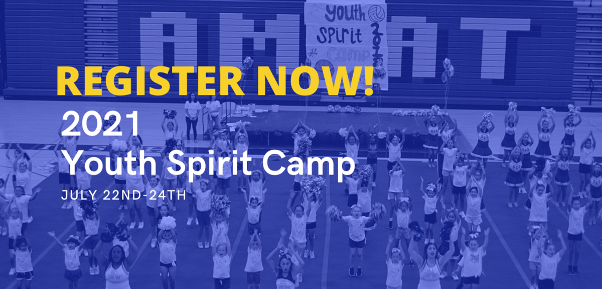 Register now! Youth Spirit Camp 2021 July 22nd-24th