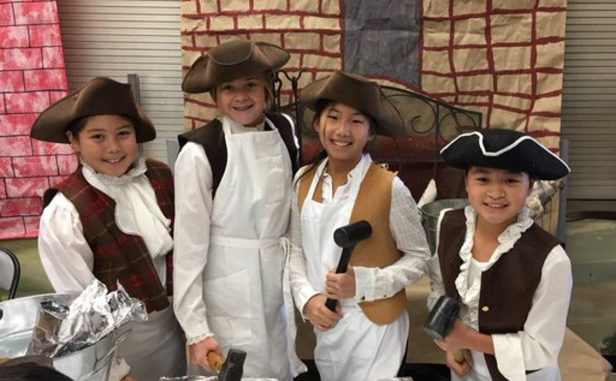 5th Grade Colonial Museum