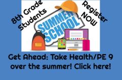 Summer School for High School Credit Register Now