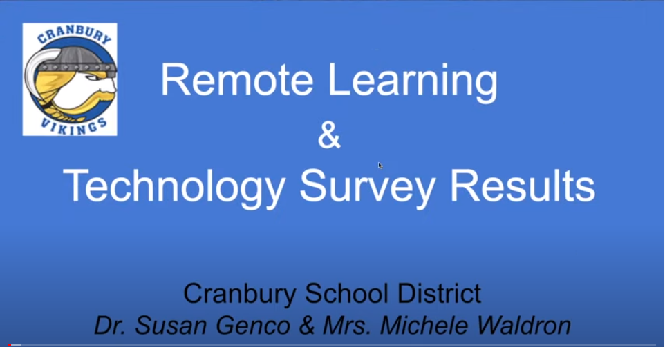 Graphic - Statement Remote Learning Survey Results