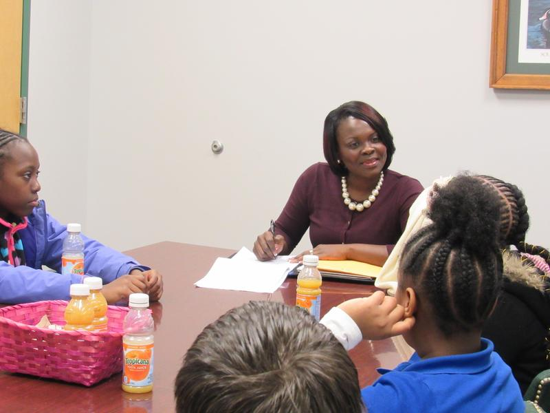 HES Student Leaders Meet With Superintendent Anderson Featured Photo