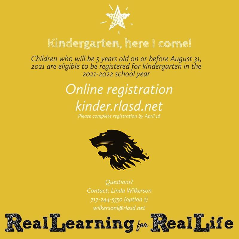 2021-22 kindergarten registration
