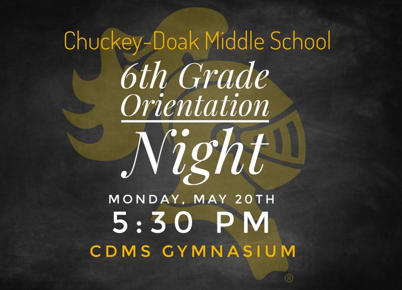 6th Grade Orientation Date Announced Featured Photo