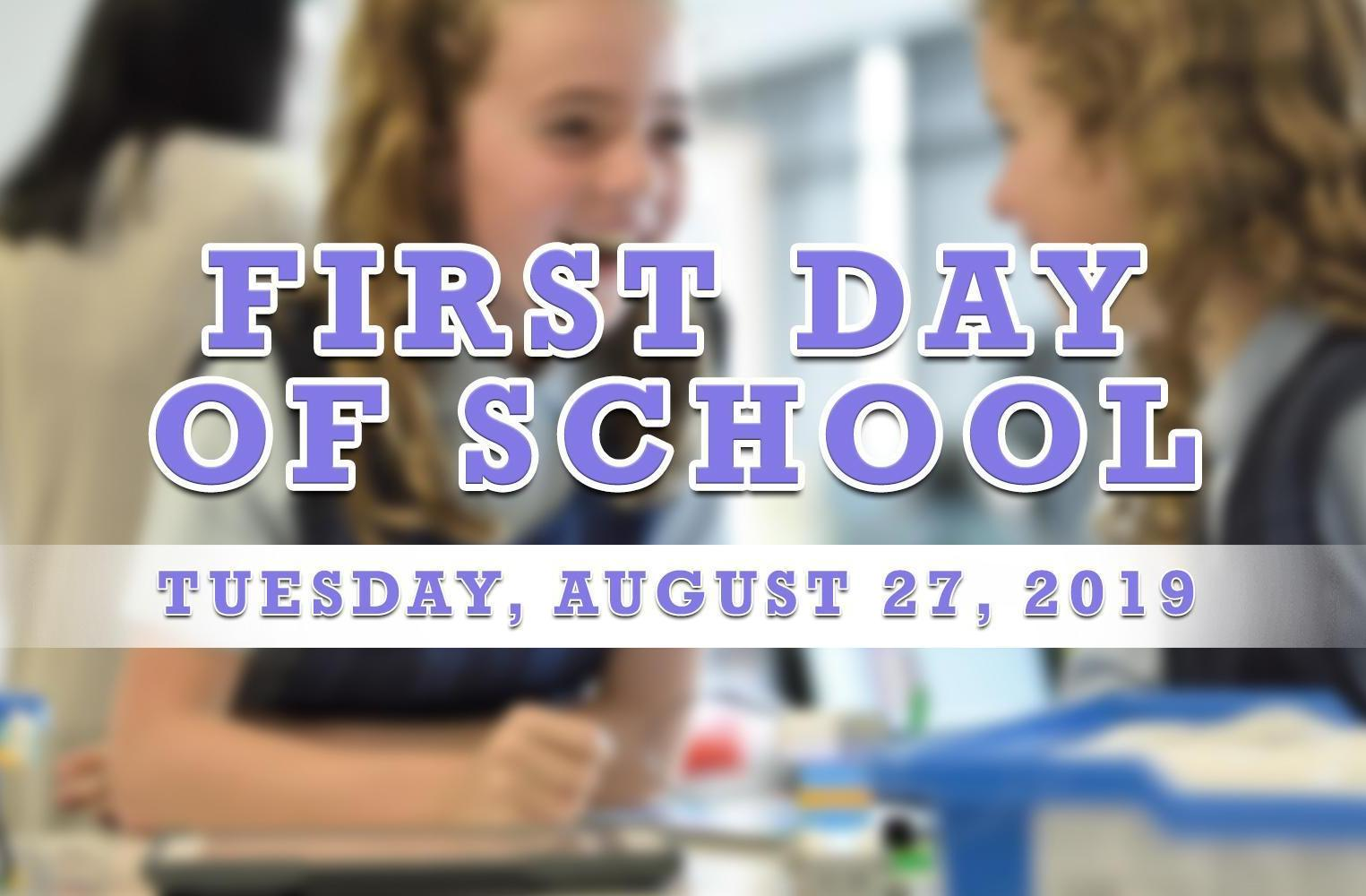 First Day of School at Morse Elementary