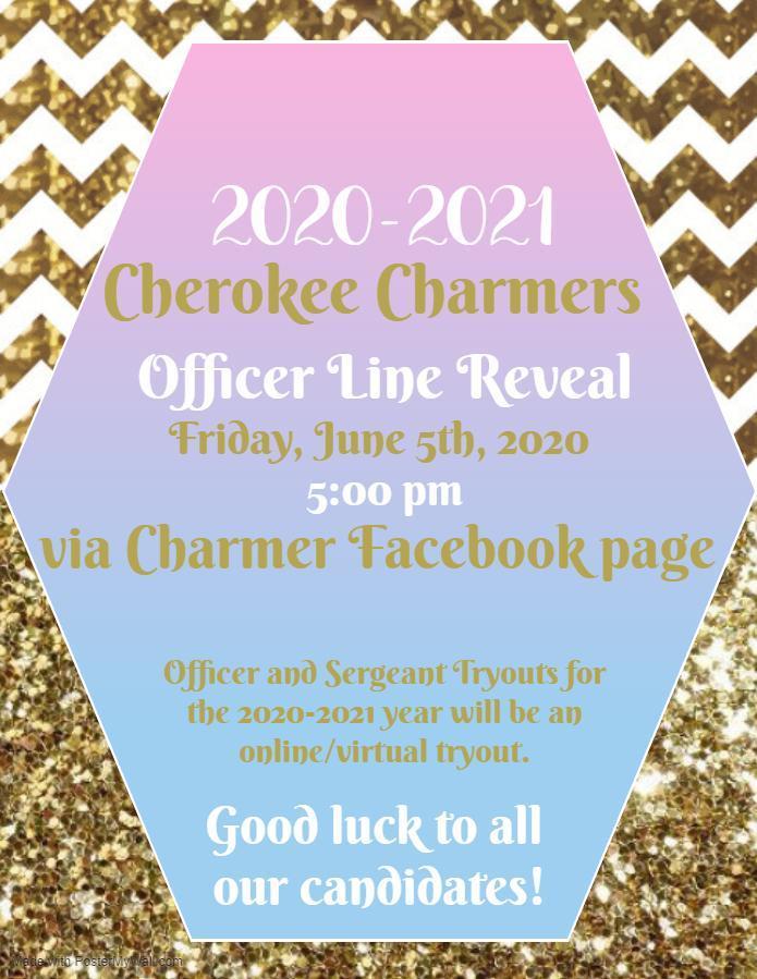 Charmer Line Reveal invite