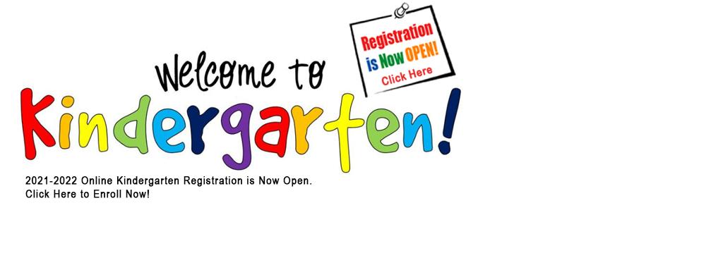 Kindergarten Registration Information Link