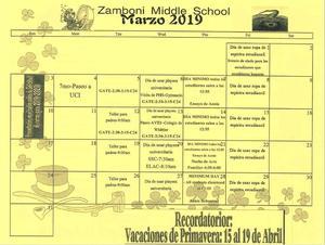 calendar march spanish.JPG