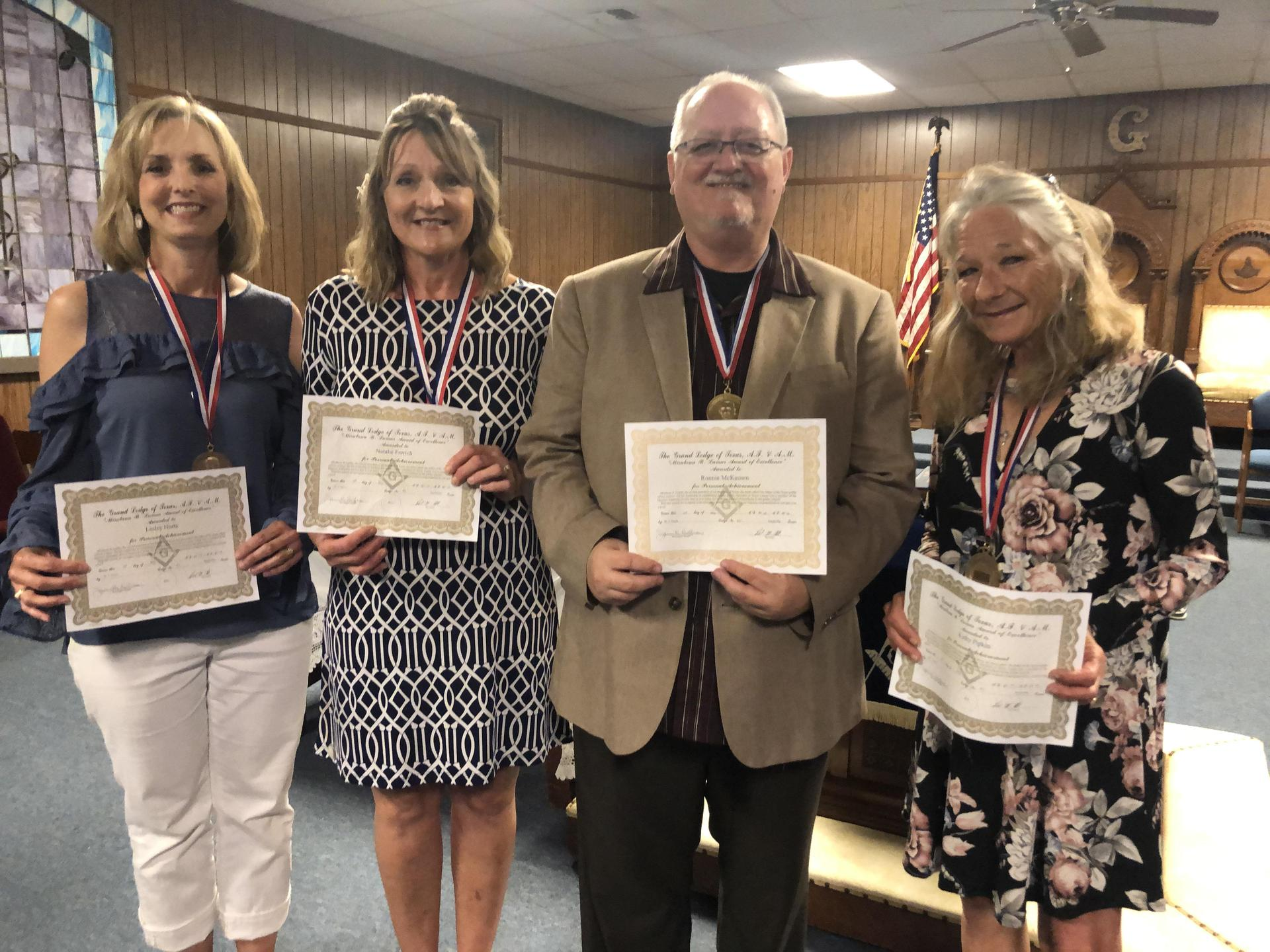 Mirabeau B. Lamar Teachers of the Year