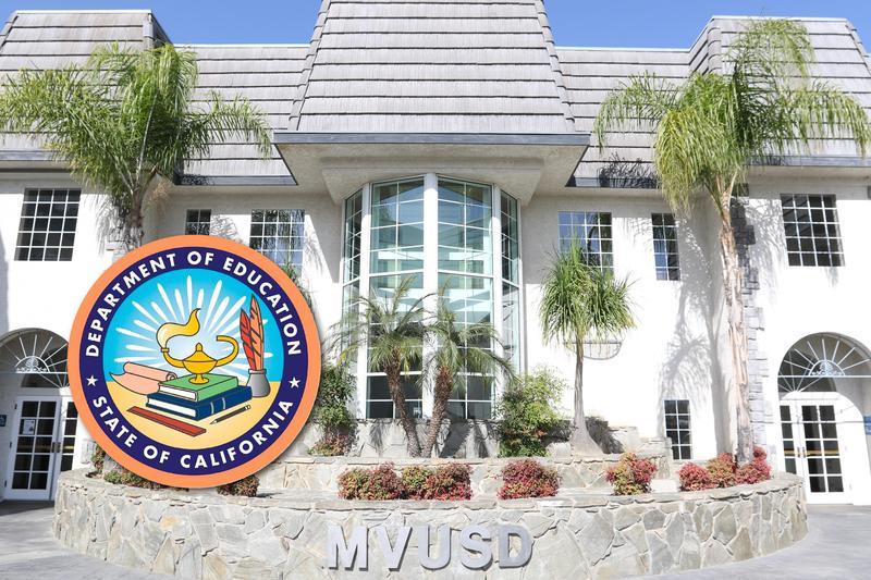MVUSD CDE award