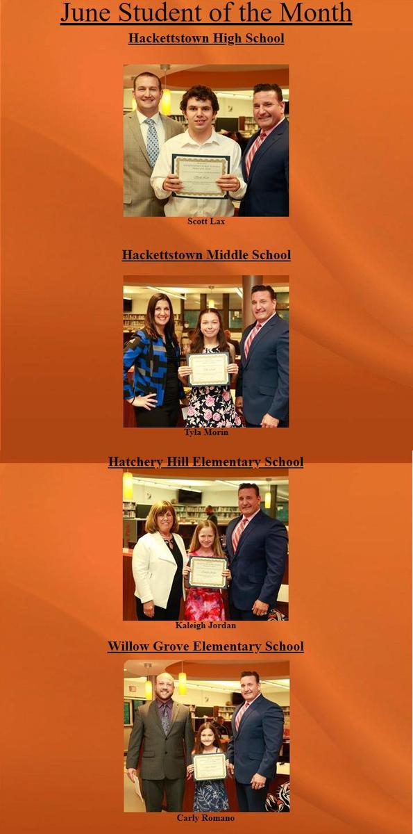 June 2019 Student of the Month