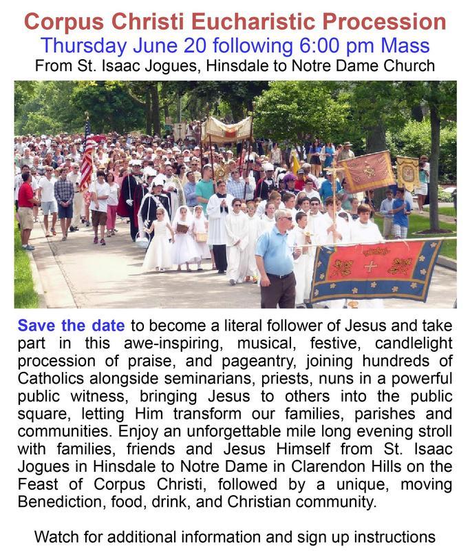 Corpus Christi Eucharistic Procession Thumbnail Image