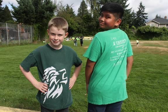 boys at recess