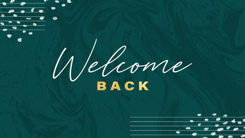 Welcome Back from Fr. Mark Thumbnail Image