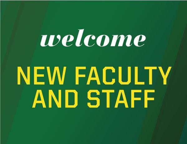 Introducing New Faculty & Staff Thumbnail Image