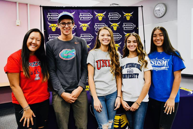 Brahma Athletes Celebrate Early Signing Day Featured Photo