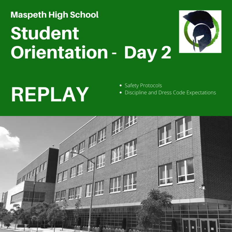 Student Orientation - Day 2 - REPLAY
