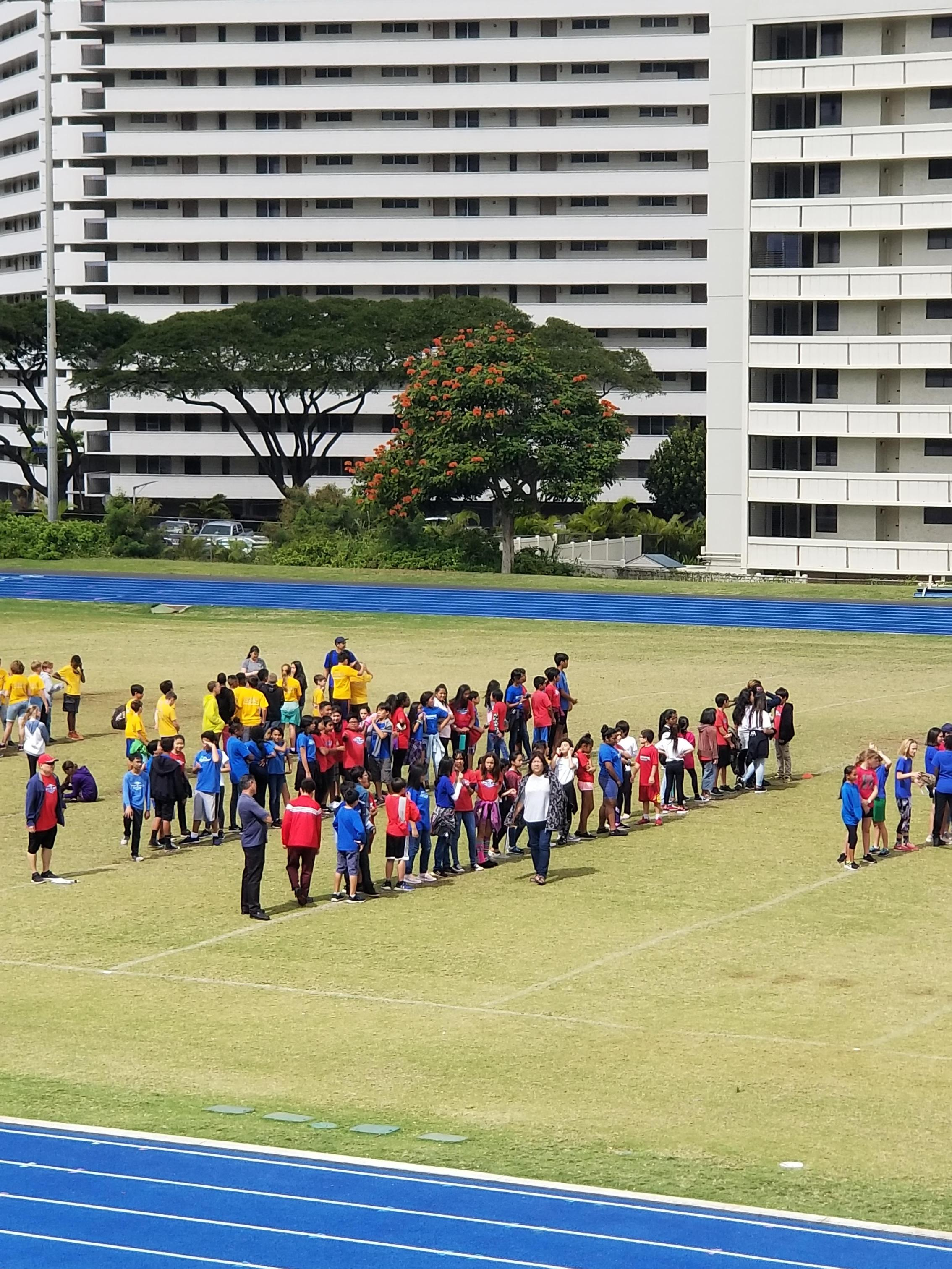 Moanalua Complex Fitness Day