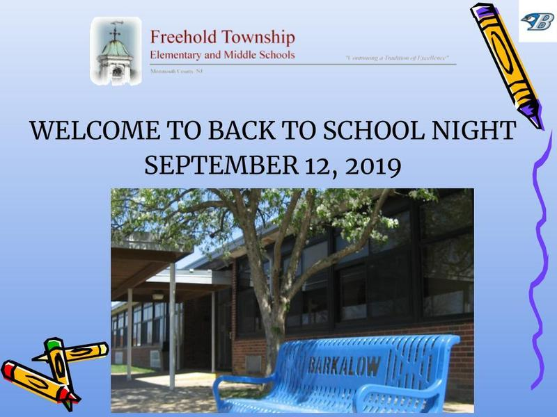 Back to School Night Presentation Thumbnail Image