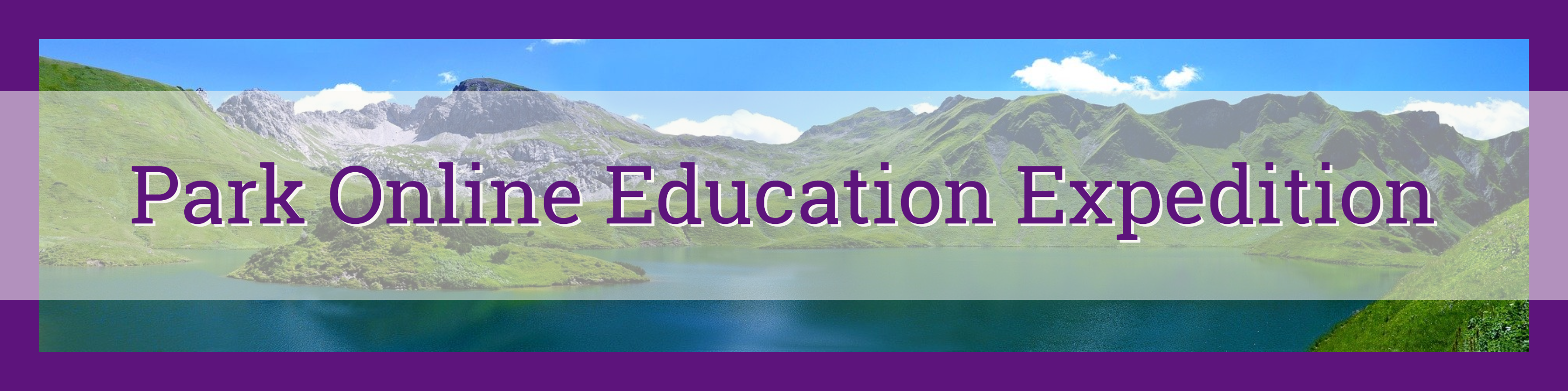 Park Online Education Expedition