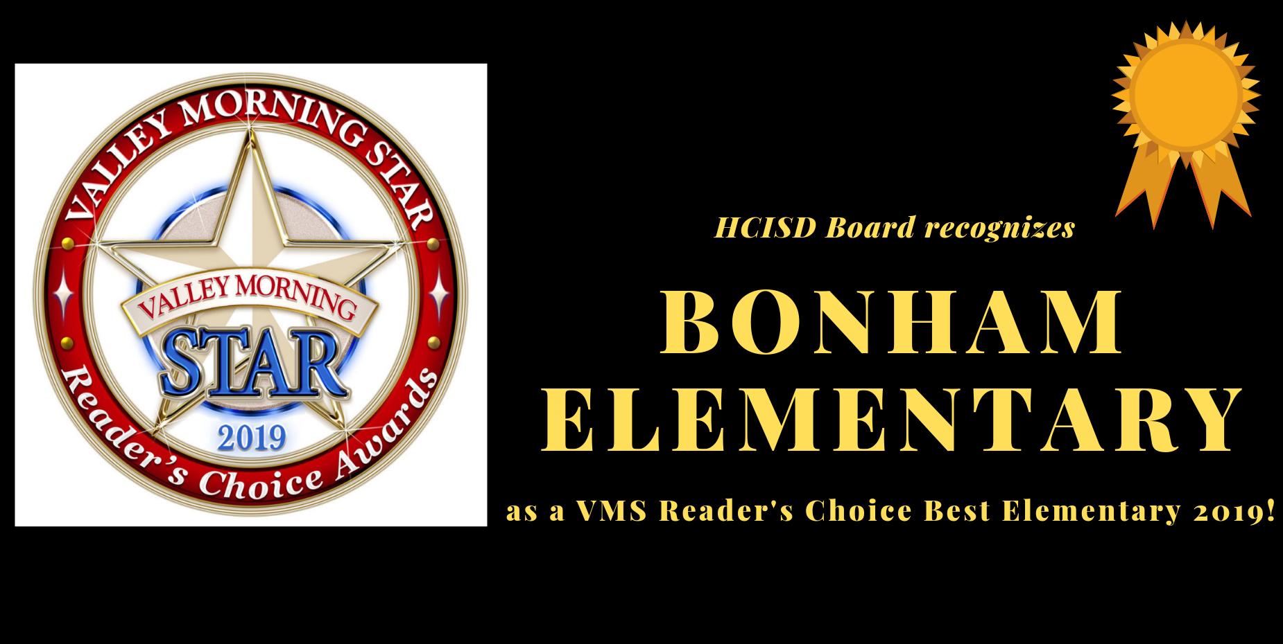 Board Recognizes Bonham Elm