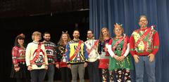BUHS Staff Ugly Christmas sweater Contest winners!