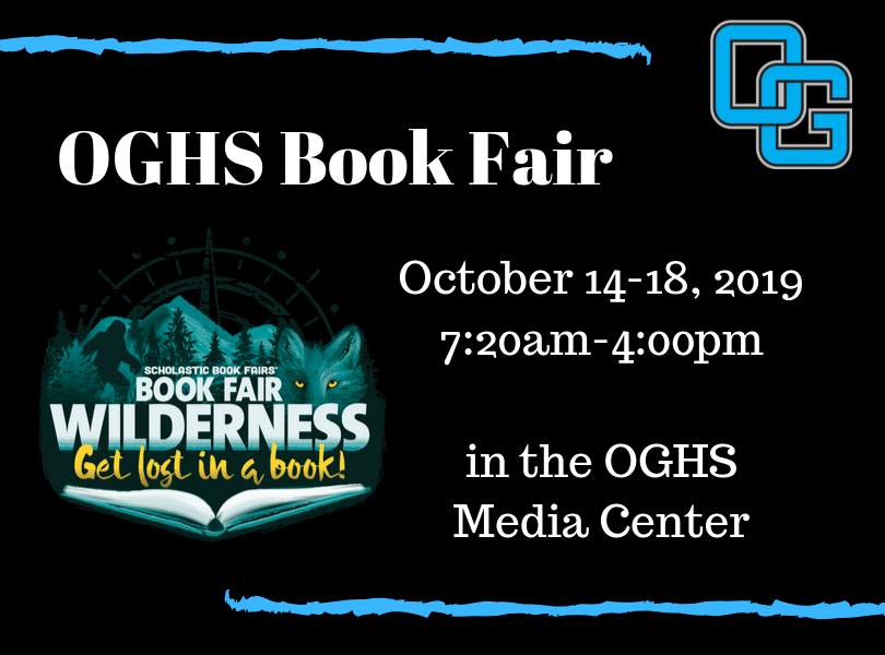 OGHS Book Fair October 14-18