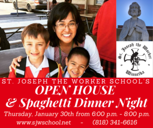 SJW - 2020 Open House and Spaghetti Dinner Night 2 - Facebook Post.png