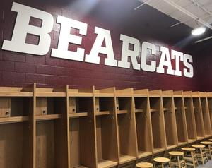 Boys' locker room