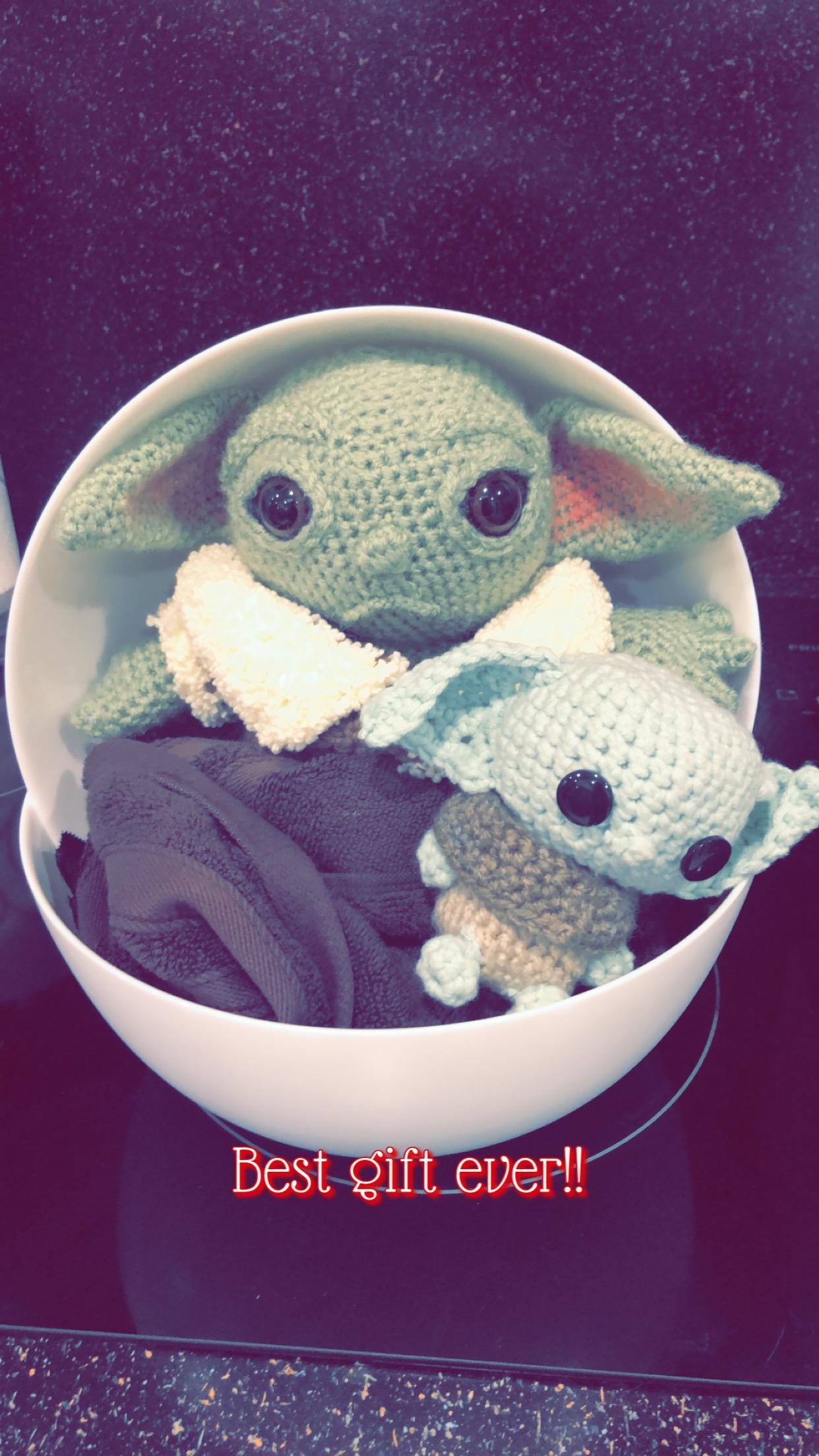 I love Baby Yoda!