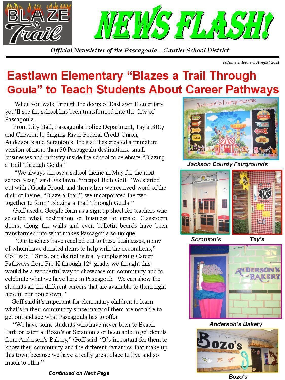 News Flash Vol. 2, Issue 6