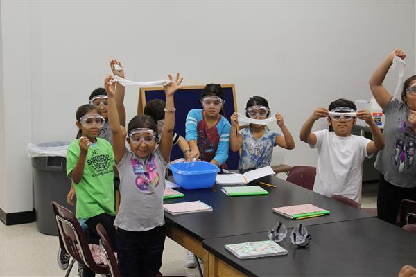DWE third-graders make Gak
