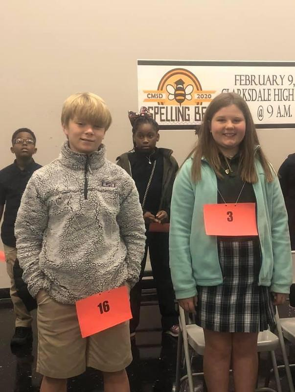 a great BIG Congrats to our SPELLING BEE winners! Featured Photo