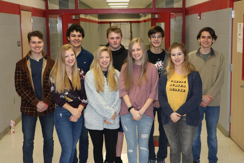 AHS BAND STUDENTS SELECTED FOR THE ALL STATE BAND Thumbnail Image